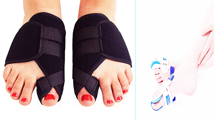 plantar fasciitis pinky toe - Splint for Bunions - how to get rid of bunions naturally at home