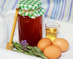 Honey and egg ,How To Stop Hair Loss And Regrow Hair Naturally