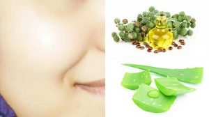 For Acne - How To Use Castor Oil And Aloe Vera Gel For Hair Growth