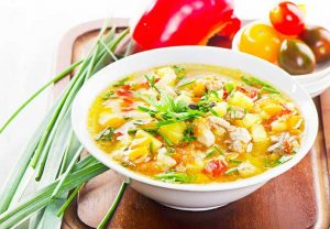 chicken soup - How To Get Rid Of A Cold In 2 Days