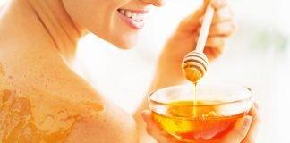 honey sugar face scrub