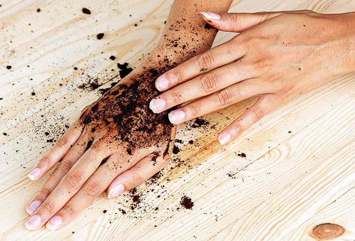 Used Coffee Grounds Scrub - Coffee Scrub for Hands And Legs - Best Coffee Scrub - Awesome 13 DIY Coffee Scrub Face Mask Benefits For Smooth Skin