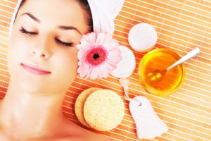 Facial Scrub With Almond Bran - 5 Fabulous DIY Homemade Honey Sugar Body Scrub Recipes