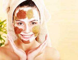cinnamon facemask
