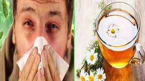 Colds - Camomile Tea