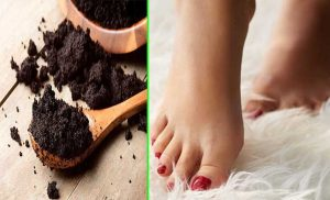 Foot Peeling - Coffee Grounds For Skin