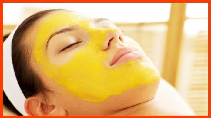 DIY Recipe With Cinnamon - turmeric face mask acne scars