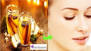 Apple cider vinegar refreshment for the skin - 5 Amazing Ways To Use Apple Cider Vinegar For Beautiful Skin