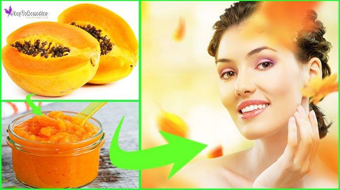 papaya face masks