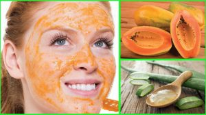 Papaya Mask With Aloe Vera