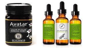 Manuka Oil And Manuka Honey for pimples