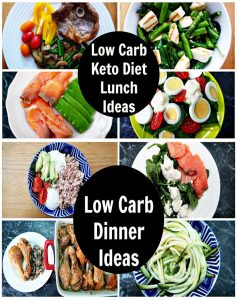 Carbohydrate - Free Recipes For Lunch And Dinner