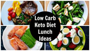 Recipes For The Low Carb Lunch