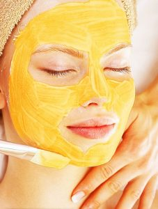 Pumpkin mask for sensitive skin
