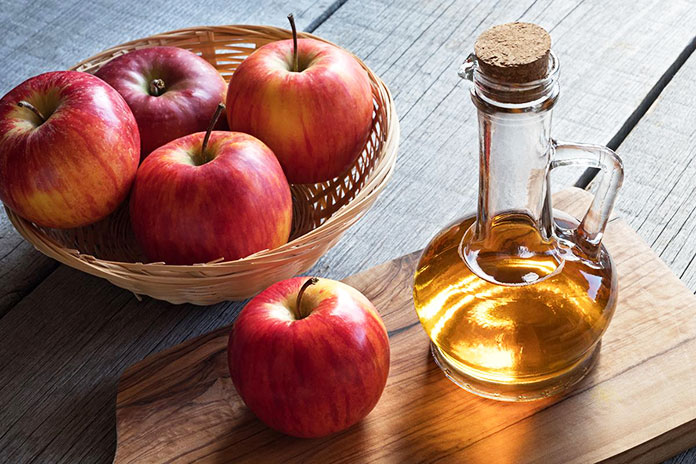 Apple Cider Vinegar Opens The Pores - DIY Face Mask For Pimples