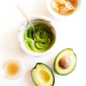 Overnight Avocado Face Mask For Dry Skin