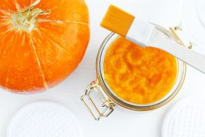 Pumpkin mask for sensitive skin - pumpkin face mask