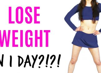 How To Lose Weight In 1 Day
