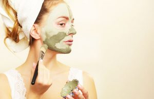 Face Mask Against Pimples