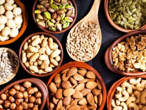 Nuts For Healthy Hair - food for hair growth and thickness