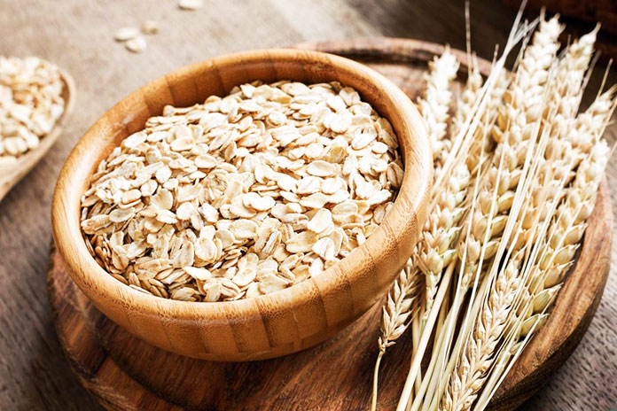 Oatmeal For Shiny Hair - what are the best foods for hair growth