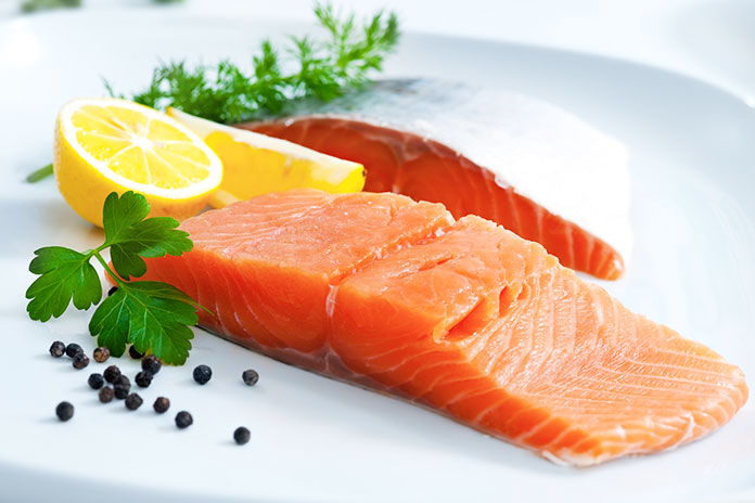 Salmon For A Healthy Scalp - foods for hair loss recovery