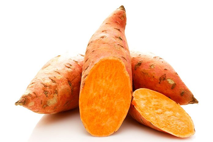 Sweet Potato Against Dandruff - what are the best foods for hair growth