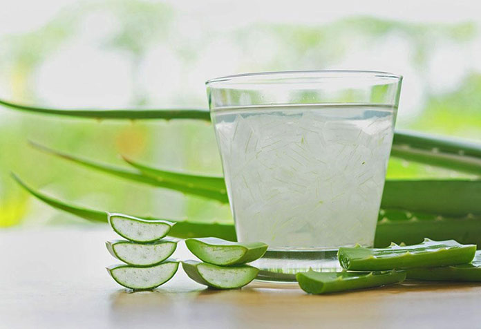 Aloe Vera Juice - Remedies for Red Eyes