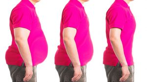 reduce body fat on the abdomen and waist