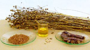 Linseed Oil - oil face mask