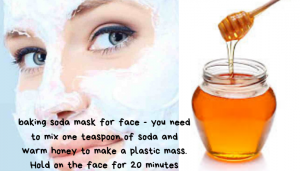 Soda Mask - Homemade Cleansers