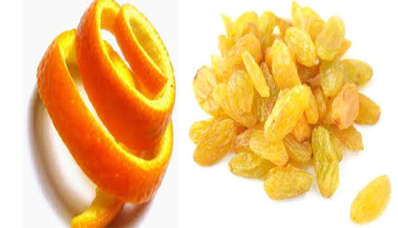 Orange Peels With Raisins - How To Stop Insomnia Naturally