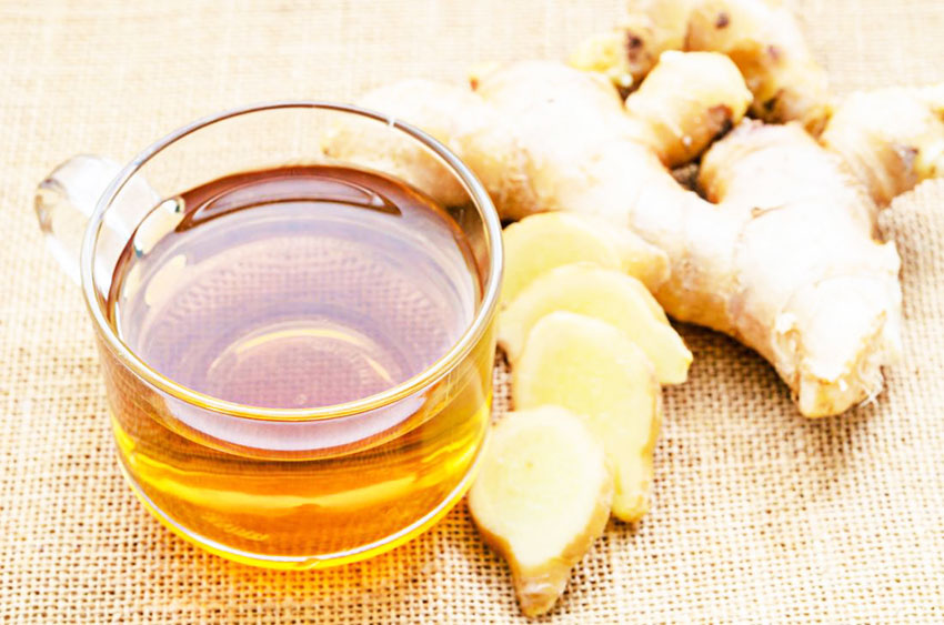 Ginger drink for weight loss - Recipe